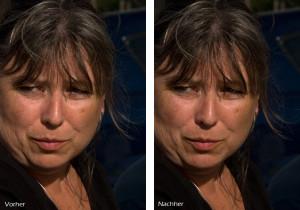 Photoshop, Bildbearbeitung, RGB Schärfen mit Schwarzkanal
